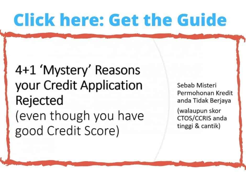 CCRIS Check online: 9 Exposed Secrets to Solve your Problems by CF Lieu - Certified Financial Planner Malaysia